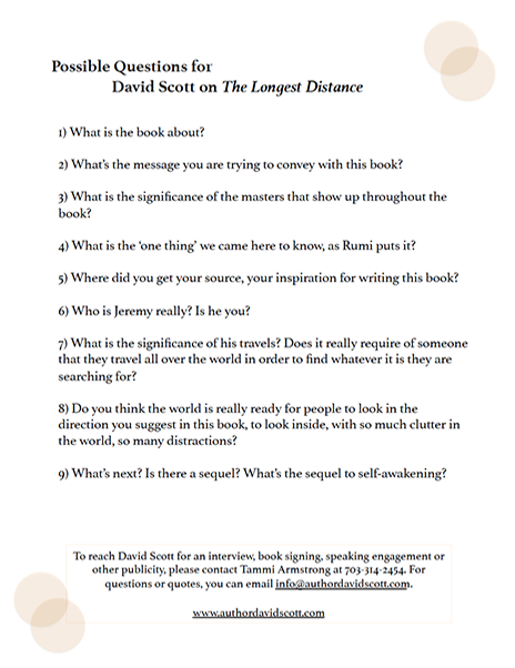 David Scott Possible Questions 1